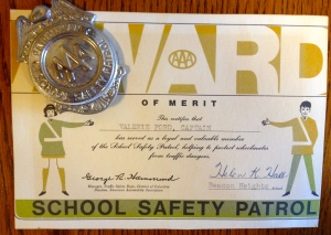 Safety Patrol Certificate & Badge