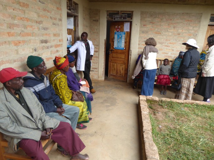 The AIDS clinic in Madisi
