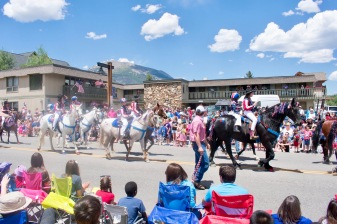 Fourth of July Parade in Frisco, CO