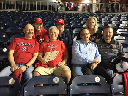 At the LU Baseball game