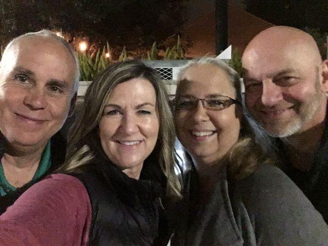 Reg & Val with Steve & Jeanie